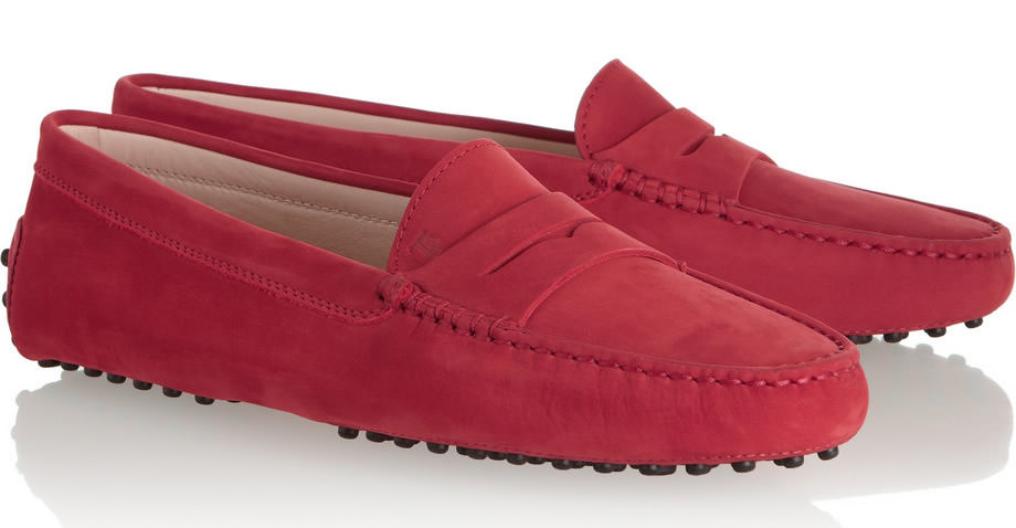 Tods Gommino Suede Loafers