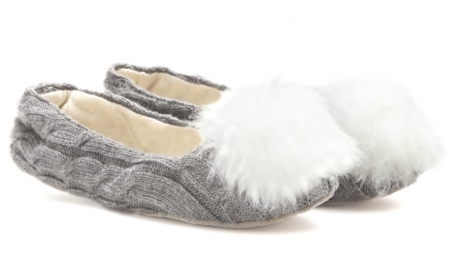 UGG Andi Shearling-Lined Slippers