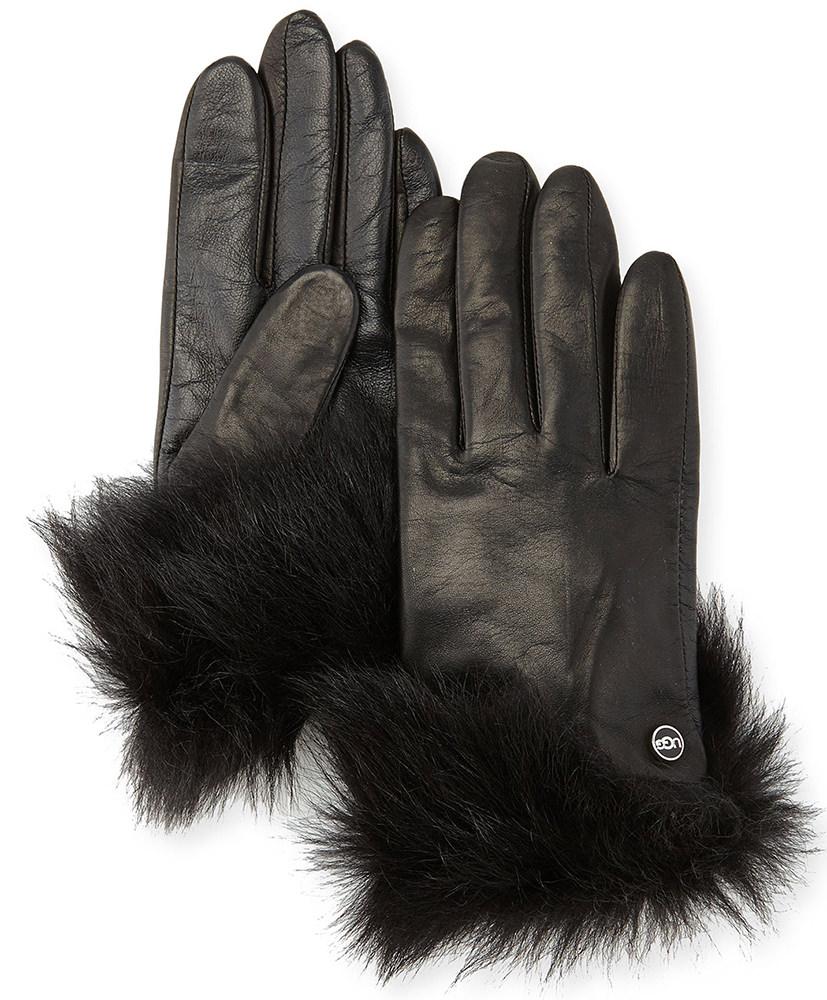 Ugg Australia Quinn Leather Gloves