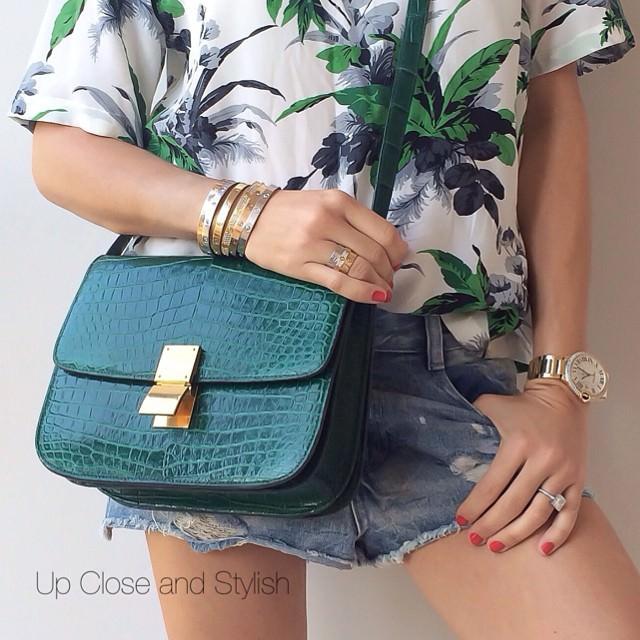 UpCloseandStylish Celine Box Bag