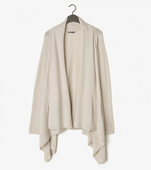 VINCE Wool Cashmere Drape Cardigan