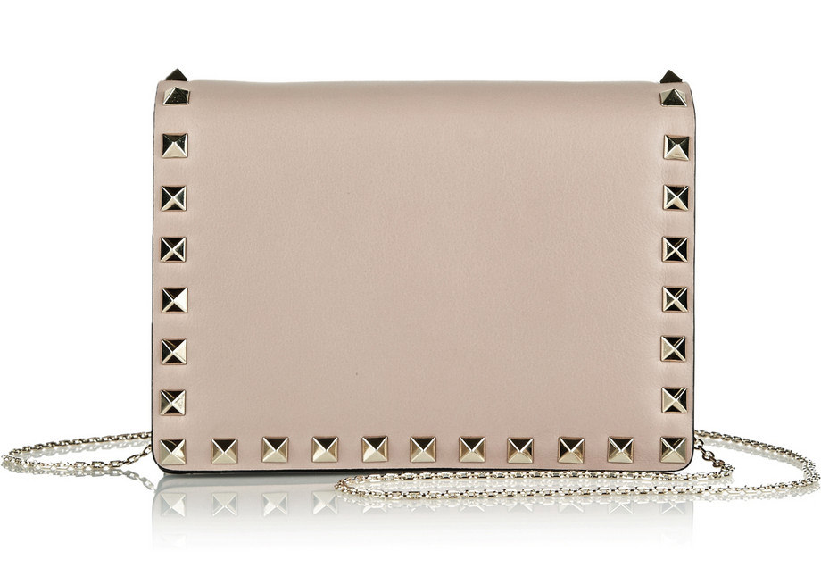 Valentino Rockstud Flap Shoulder Bag
