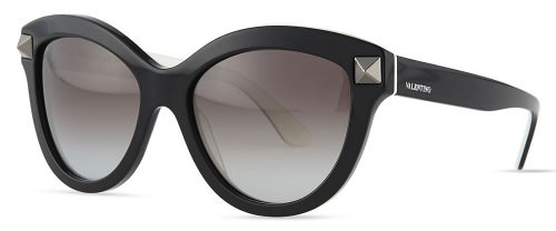 Valentino Rockstud-Front Cat-Eye Sunglasses