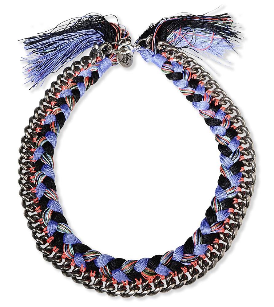 Venessa Arizaga Woven Chain Necklace