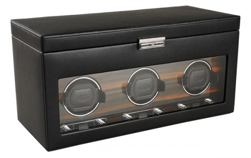 Wolf Designs Roadster Triple Watch Winder Case