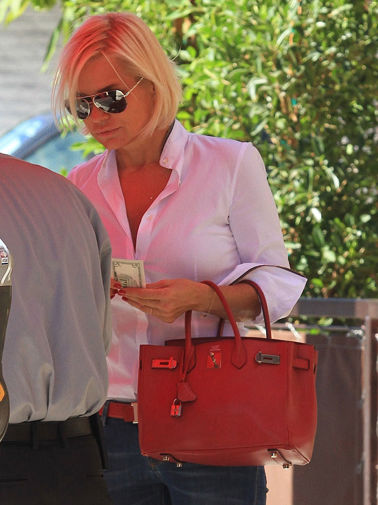 Yolanda Foster seen on Bedford Drive in Beverly Hills