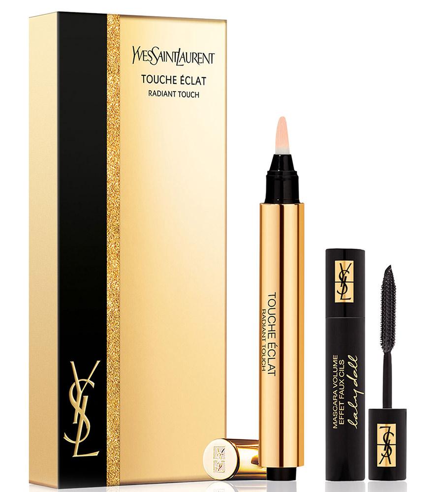 Yves Saint Laurent Touche Eclat and Faux Cils Mascara Gift Set