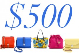 5 Under $500: Bright Bags to Fight the Winter Blahs