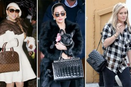 Check Out Our Favorite Celebrity Bag Looks from the Holidays