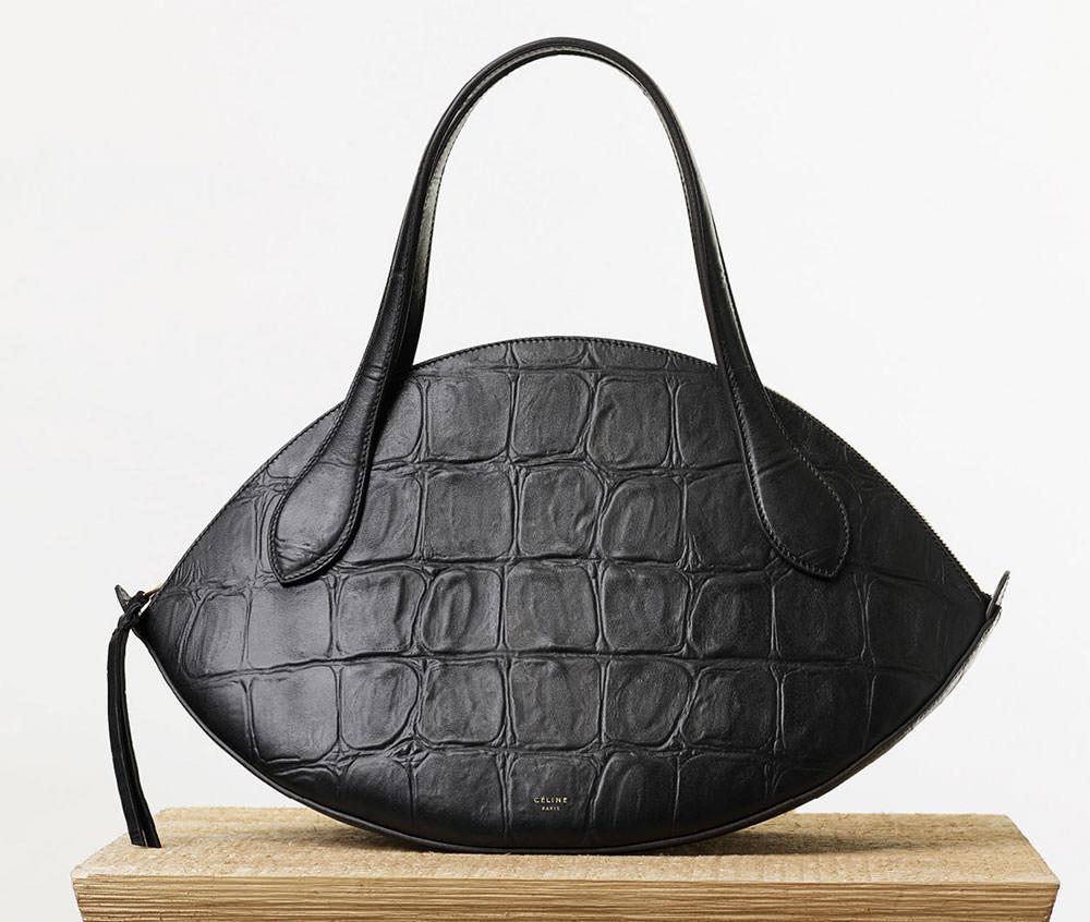Celine-Large-Curved-Handbag-Stamped-Croc-2050