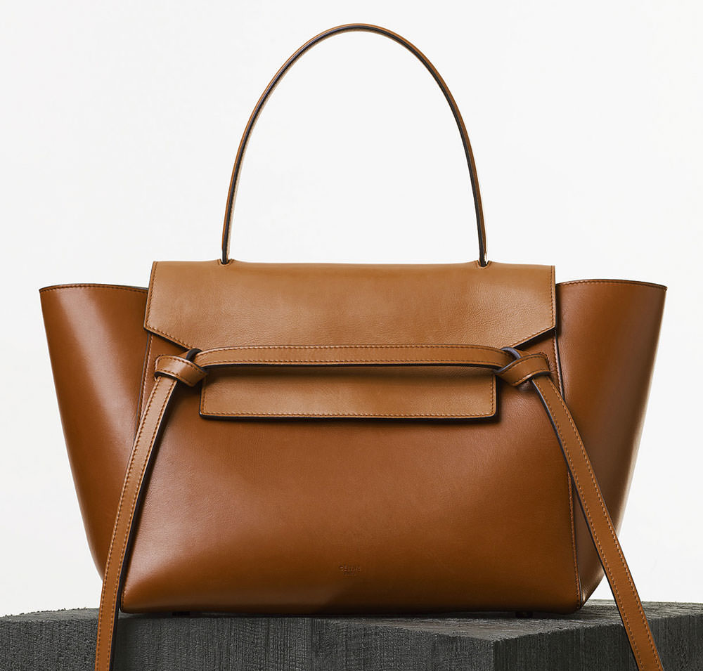 celine brown leather bag