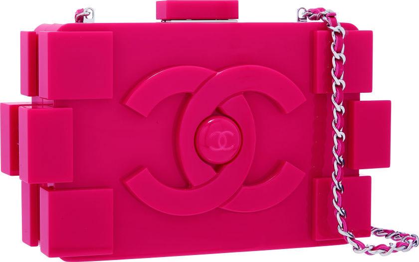 Chanel-Boy-Brick-Clutch-Pink-Plexiglass