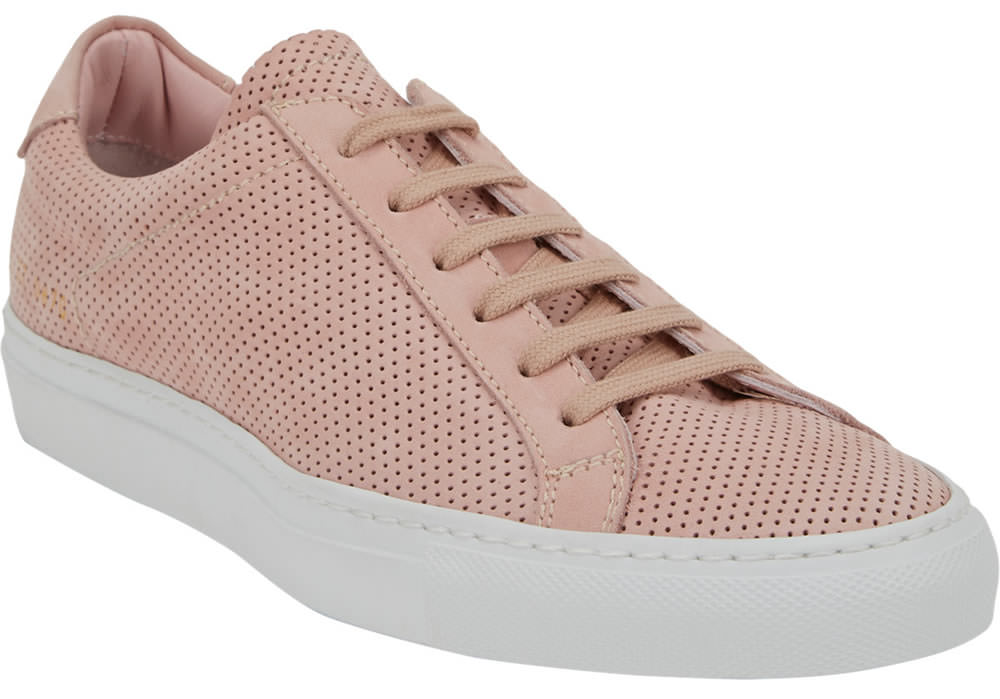 Common Projects Perforated Original Low-Top Sneakers