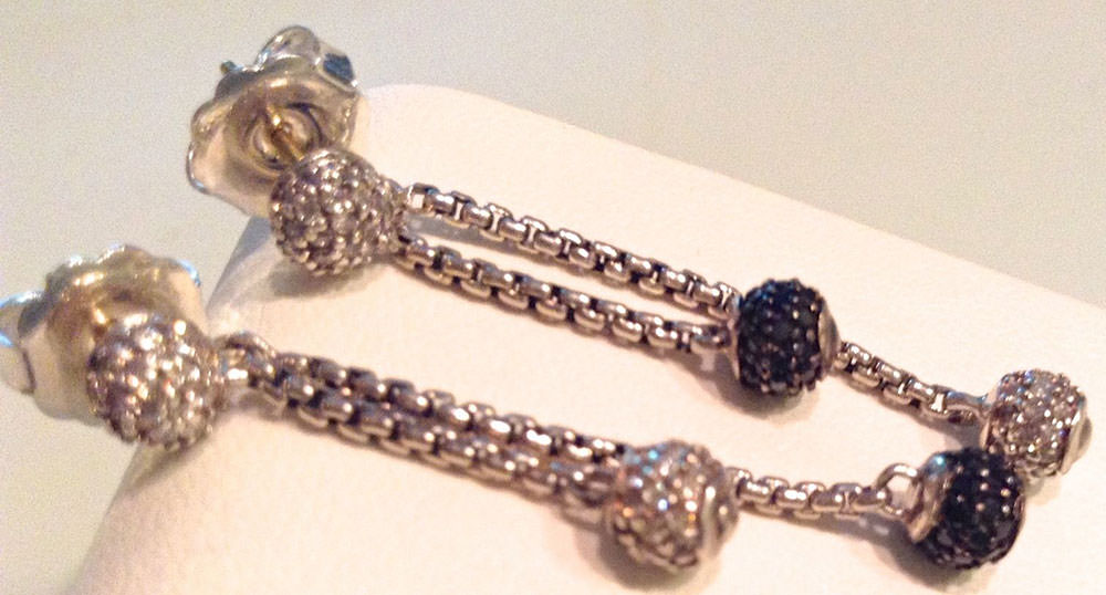 David-Yurman-Diamond-Drop-Earrings