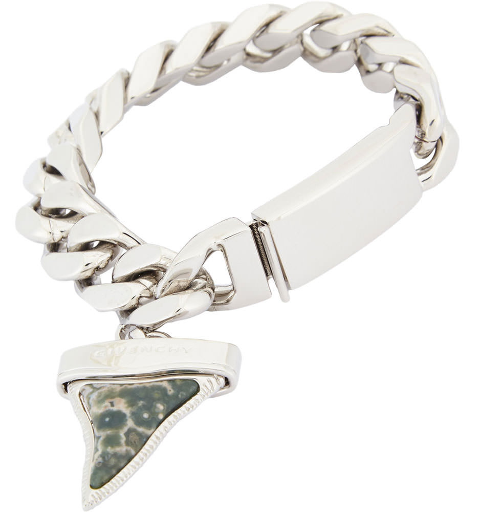 Givenchy-Shark-Tooth-Charm-Bracelet