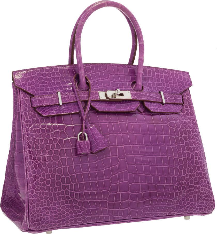 Hermes-Birkin-Shiny-Violet-Crocodile