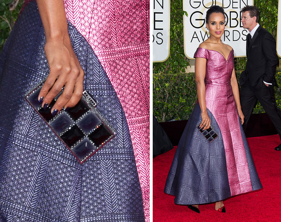 Kerry-Washington-Judith-Leiber-Smoke-Resin-Clutch