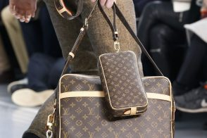 Monogram Makes a Major Comeback at Louis Vuitton's Fall 2015 Menswear Show