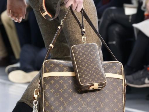 Monogram Makes a Major Comeback at Louis Vuitton's Fall 2015 Menswear Show