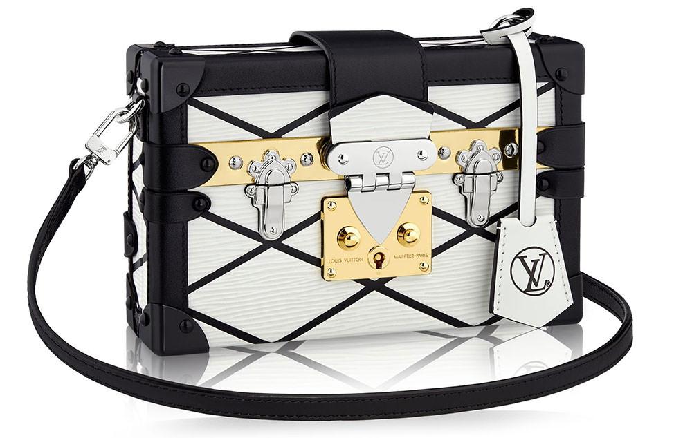 Louis-Vuitton-Petite-Malle-Malletage-Bag-White