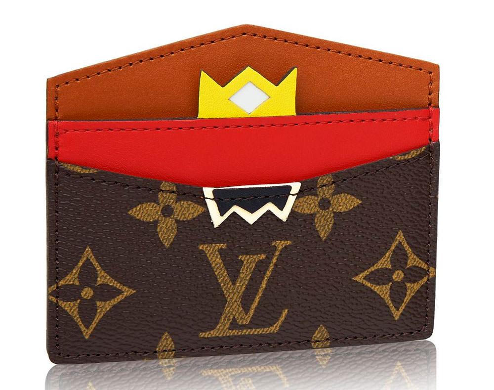 Louis-Vuitton-Tribal-Mask-Card-Holder-Red