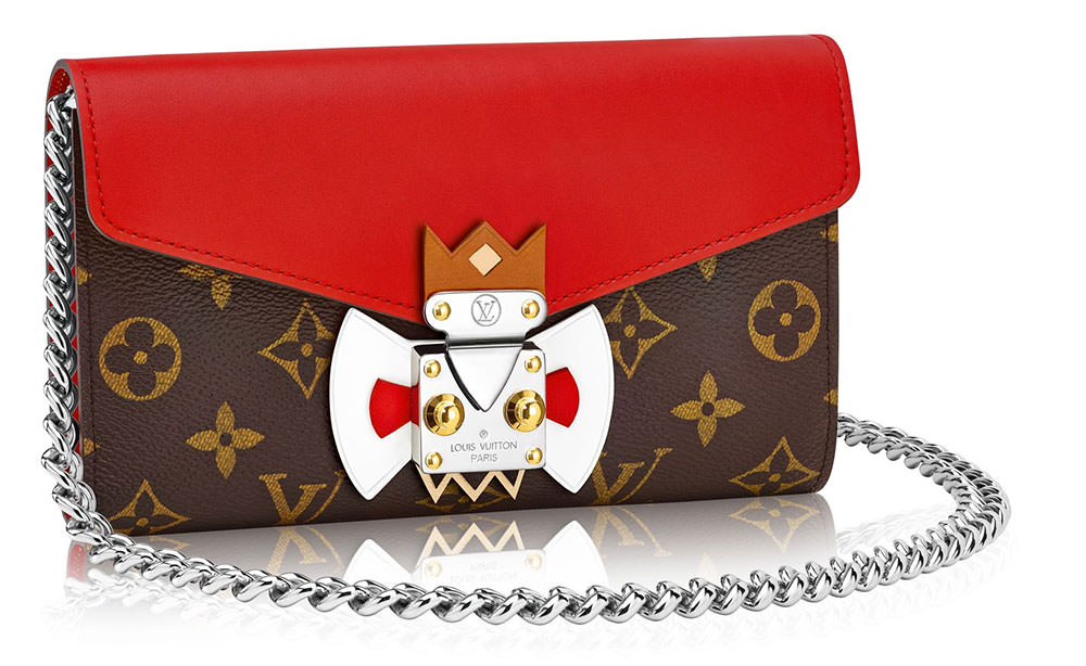 Louis-Vuitton-Tribal-Mask-Chaine-Wallet-Red