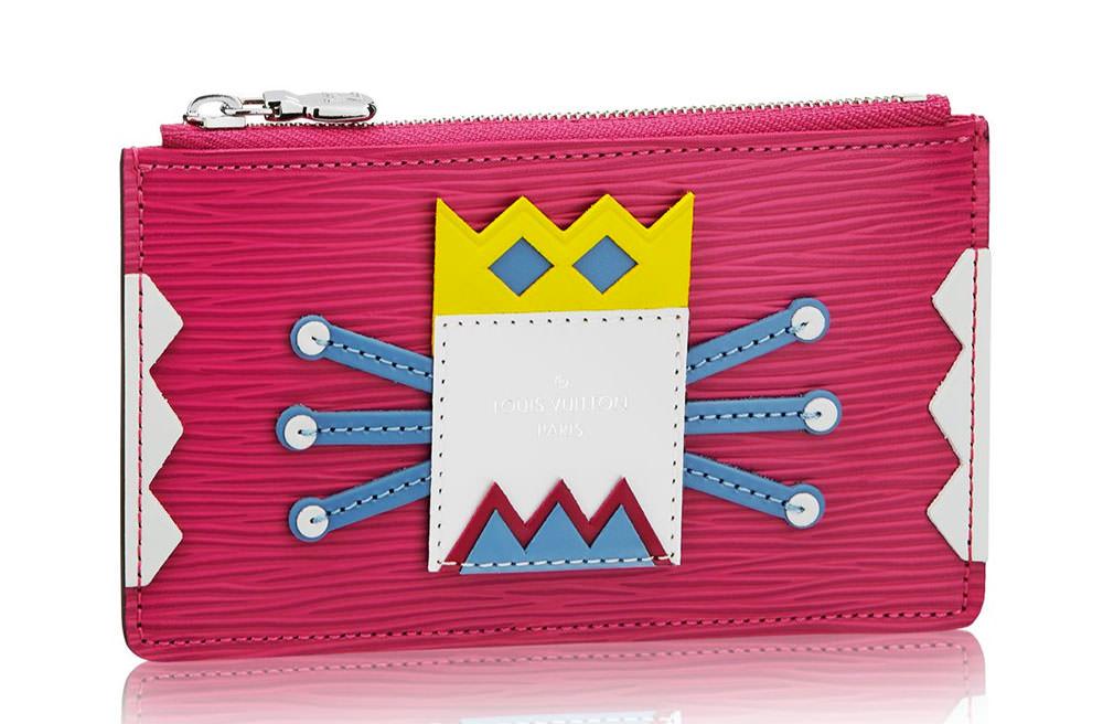 Louis-Vuitton-Tribal-Mask-Key-Pouch-Pink
