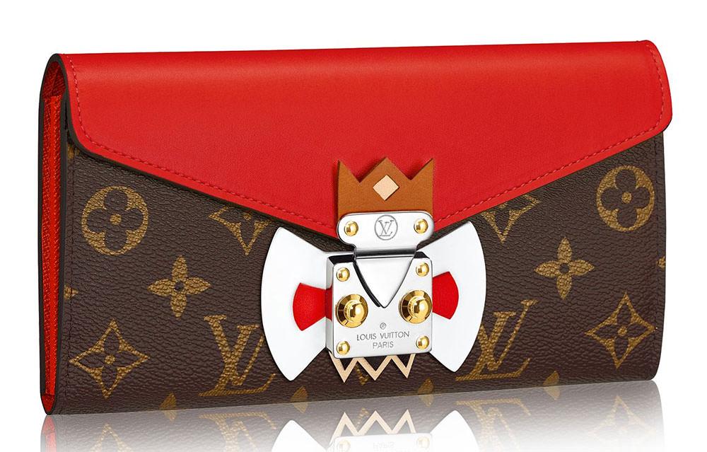 Louis-Vuitton-Tribal-Mask-Sarah-Wallet-Red