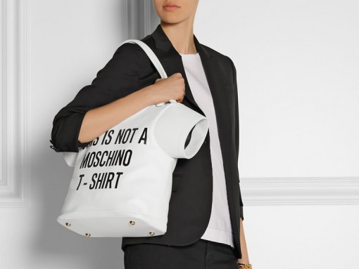Moschino t-shirt bag