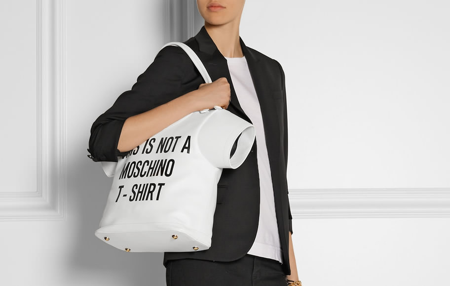 Moschino t-shirt bag