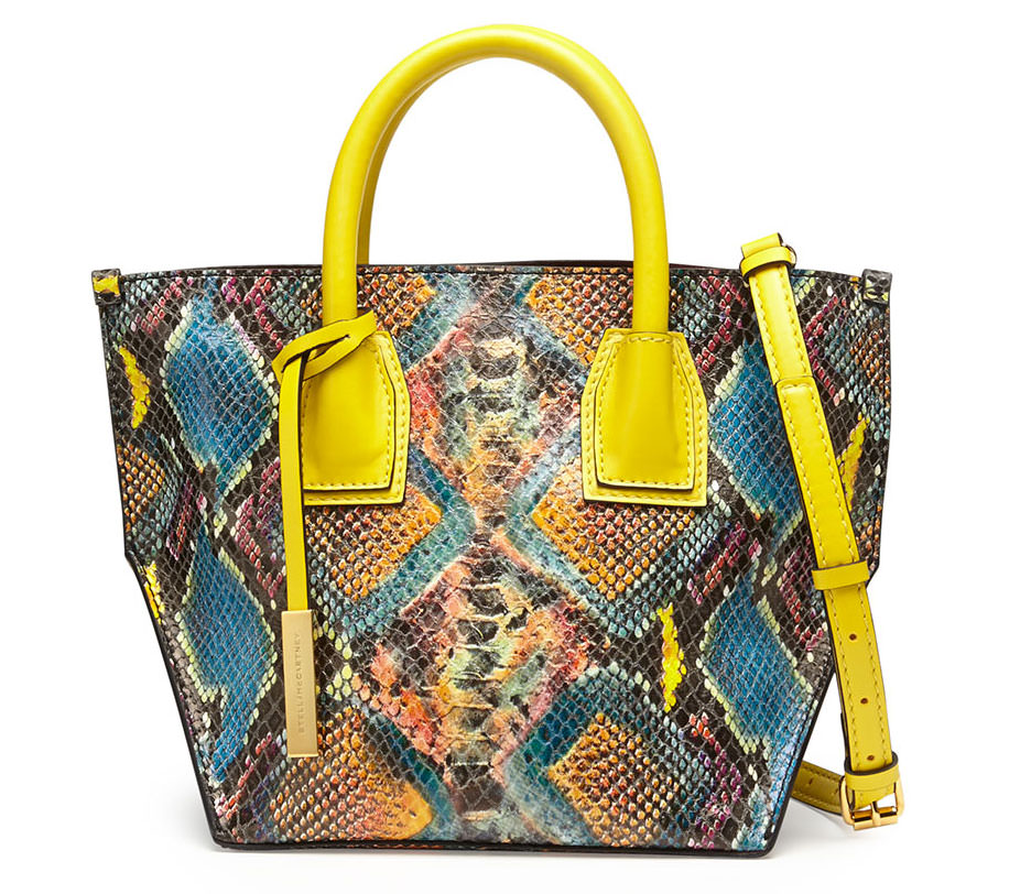 Stella-McCartney-Cavendish-Faux-Python-Mini-Tote