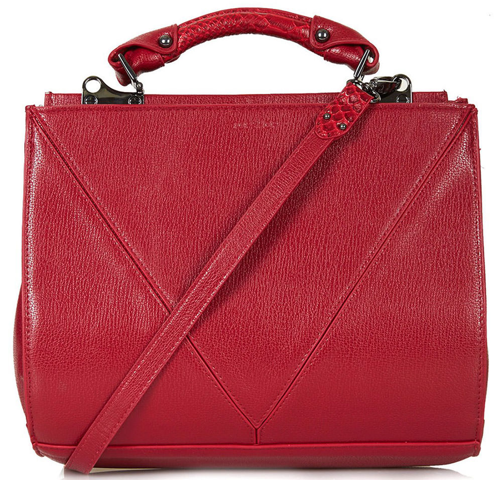 TopShop-V-Panel-Carryall-Bag