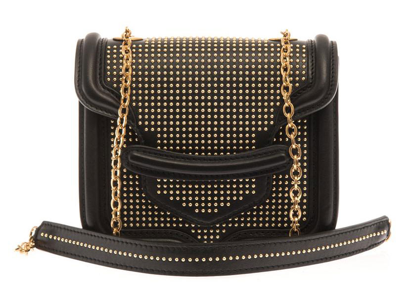 Alexander-McQueen-Studded-Heroine-Shoulder-Bag