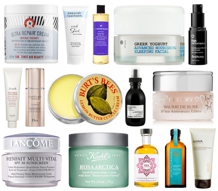 25 Great Products To Keep You Moisturized From Head To Toe