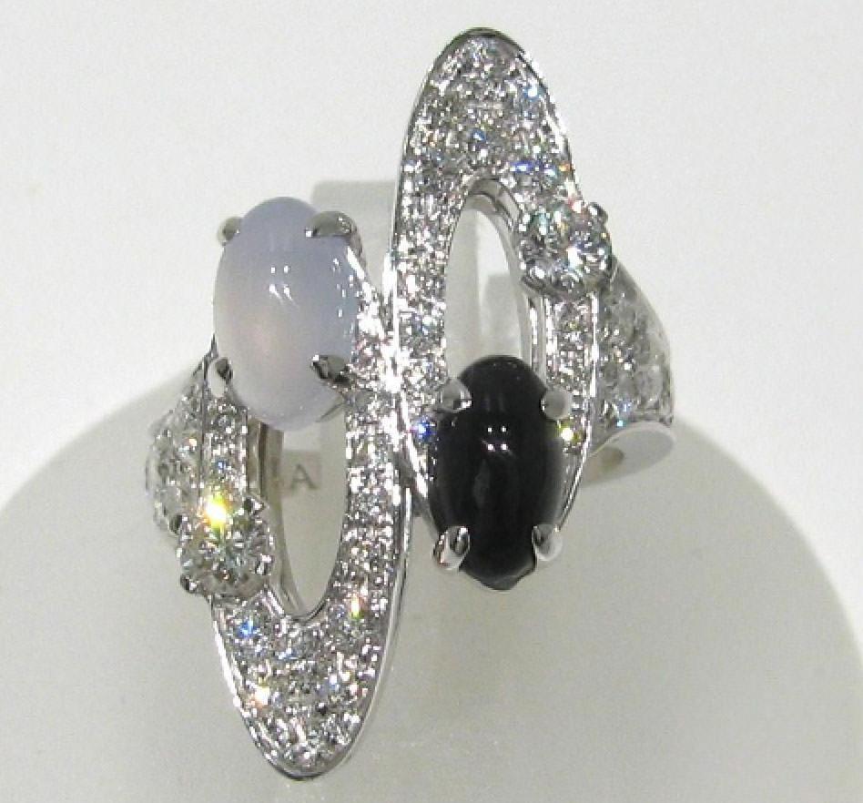 Bulgari-Diamond-Quartz-and-Onyx-Ring