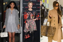 Celebs Celebrate Louis Vuitton and More in Our Latest Look at Stars' Bag Picks