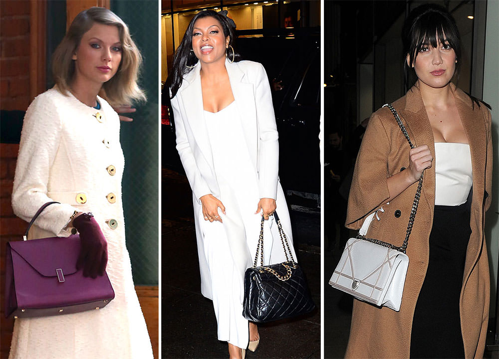 040d6ee47306 Celebs Carry Dior to a New Bag Launch   Taylor Swift Diversifies Her Handbag  Collection