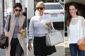 Our Latest Crop of Celebrity Bag Picks Includes Everyone from Hilary Swank to Khloé Kardashian