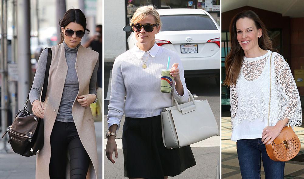 Designer handbags celebrities carry