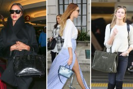 UK Celebs Carry Their Best Bags to London Fashion Week, US Celebs Mostly Just Hang Out at LAX, Per Usual