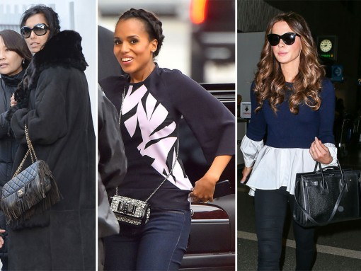 Precious Few Celebrities Opted to Carry Anything Other Than Saint Laurent and Chanel This Week