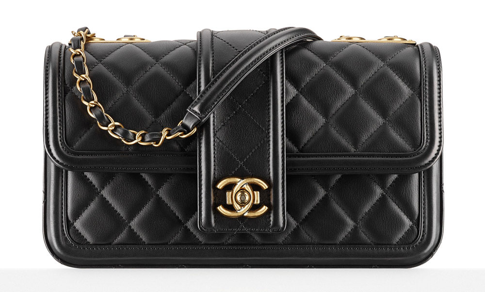 Chanel-Calfskin-Flap-Bag