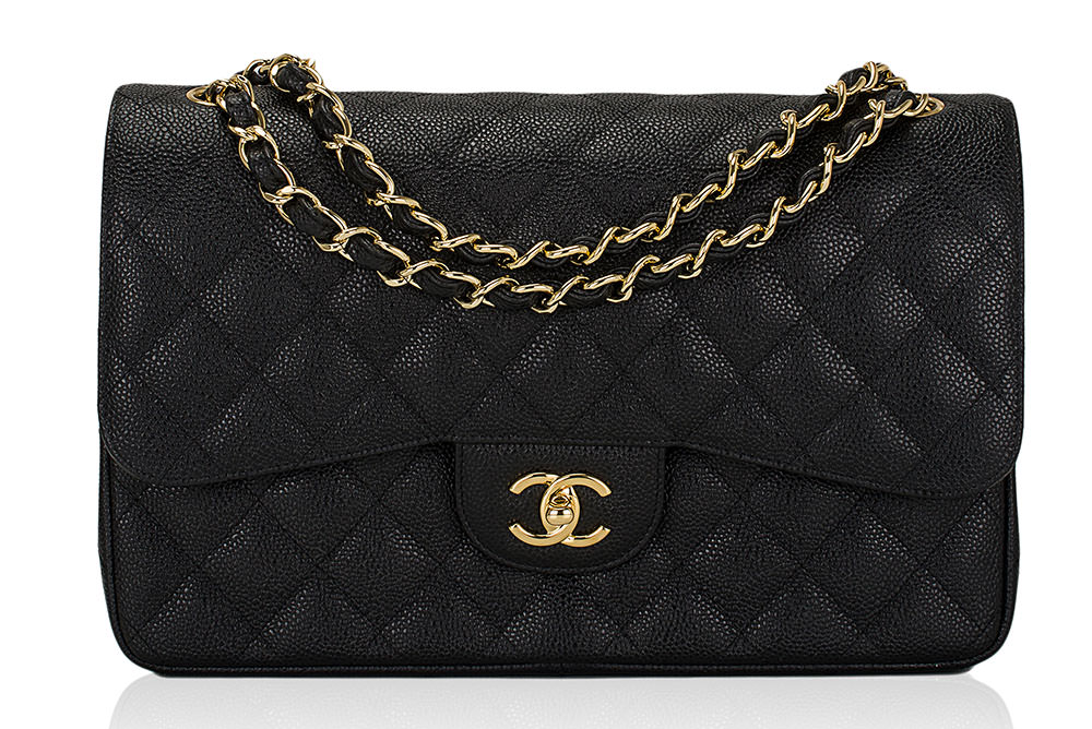Chanel-Caviar-Classic-Flap-Bag-Black