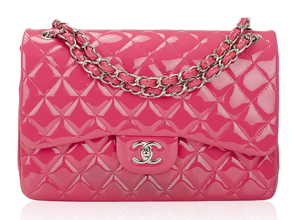 Chanel-Classic-Flap-Bag-Pink-Patent