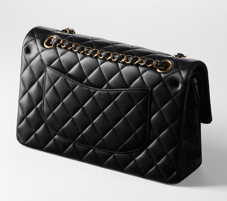 Chanel-Classic-Flap-Bag-Rear-View