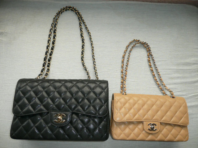 Jumbo and Medium Flap Bags. Image via tPFer the lvlady. Image via tPFer  the lvlady 862ae8a0ad065