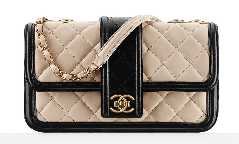 Chanel-Contrast-Trim-Flap-Bag