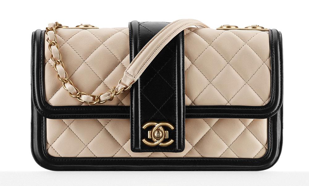 cb1f9eab583 detailed images 815e3 d8de3 Chanel-Contrast-Trim-Flap-Bag ...