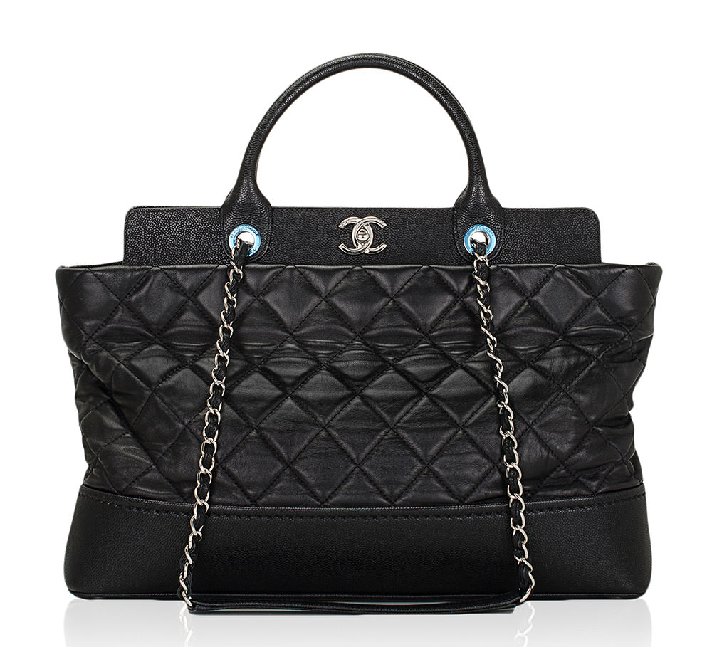 Chanel-Frame-Top-Shopping-Tote