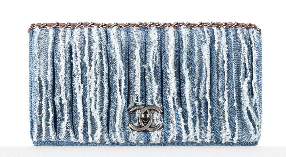 Chanel-Frayed-Denim-Flap-Bag